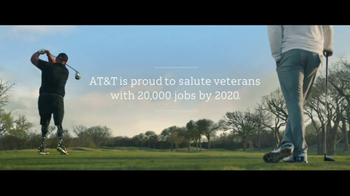 AT&T TV Spot, 'Rise Up' Featuring Jordan Spieth, Song by Andra Day - Thumbnail 4