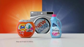 Tide PODS Plus Downy TV Spot, 'New School Laundry' - Thumbnail 2