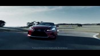 Lexus High Performance TV Spot, 'Leave a Mark' [T1] - Thumbnail 3