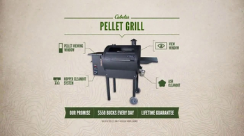 Cabela's TV Spot, 'Every Day Value Products: Pellet Grill' - Thumbnail 8