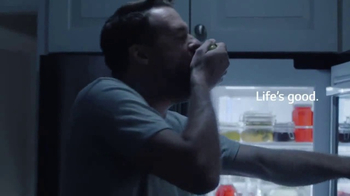 LG InstaView Door-in-Door Refrigerator TV Spot, 'Midnight Snack'
