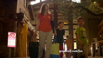 Great Wolf Lodge TV Spot, 'Itinerary' - Thumbnail 1