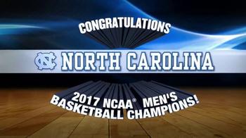 NCAA Championship Store TV Spot, 'Congratulations North Carolina' - Thumbnail 1