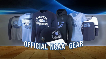 NCAA Championship Store TV Spot, 'Congratulations North Carolina'