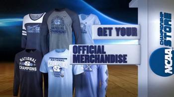 NCAA Championship Store TV Spot, 'Congratulations North Carolina' - Thumbnail 8