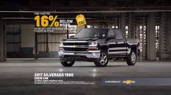 Chevy Bonus Tag Event TV Spot, 'Chevy Silverado Special Editions' [T2] - Thumbnail 7