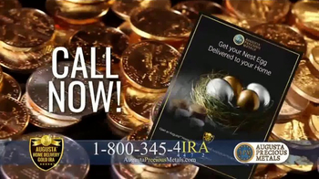 Augusta Precious Metals Home Delivery Gold IRA TV Spot, 'Store Retirement' - Thumbnail 6