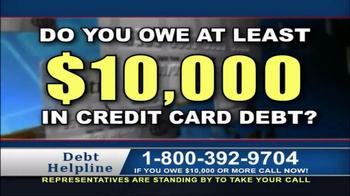 Debt Helpline TV Spot, 'Struggling'