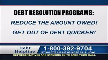 Debt Helpline TV Spot, 'Struggling' - Thumbnail 4
