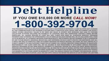 Debt Helpline TV Spot, 'Struggling' - Thumbnail 5