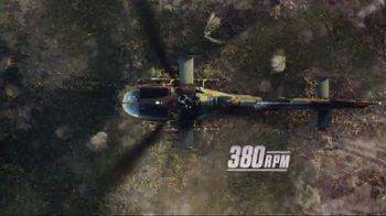 ECHO Trimmer TV Spot, 'Trimmer Speed vs. Combat Chopper' - 235 commercial airings