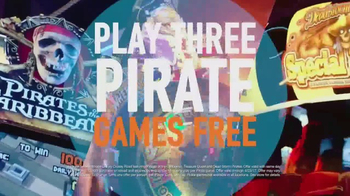 Dave and Buster's TV Spot, 'Pirate Games'