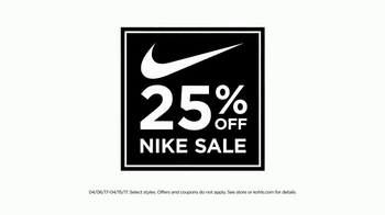Kohl's Nike Sale TV Spot, 'For the Whole Family' - Thumbnail 2