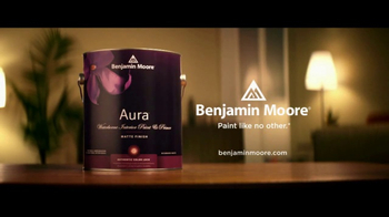 Benjamin Moore Aura Interior TV Spot, 'Smart Paint' - Thumbnail 10