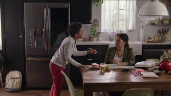 LG InstaView Door-in-Door Refrigerator TV Spot, 'Knock Knock'
