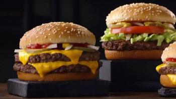 McDonald's Quarter Pounder Burgers TV Spot, 'Full of Flavor' - Thumbnail 1