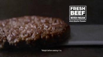 McDonald's Quarter Pounder Burgers TV Spot, 'Full of Flavor' - Thumbnail 4