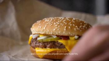 McDonald's Quarter Pounder Burgers TV Spot, 'Full of Flavor' - Thumbnail 7