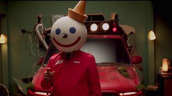 Jack in the Box Sriracha Curly Fry Burger TV Spot, 'Basement' [Spanish] - Thumbnail 7
