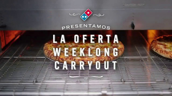 Domino's Weeklong Carryout TV Spot, 'Sin trampas, ni obstáculos' [Spanish] - Thumbnail 1