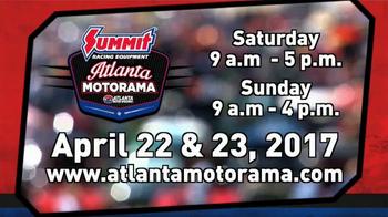 Atlanta Motor Speedway TV Spot, '2017 Summit Racing Atlanta Motorama' - Thumbnail 9