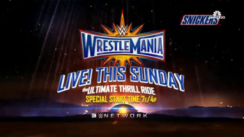 WWE TV Spot, 'WrestleMania 33' Song by Captain Funk [Spanish] - Thumbnail 10