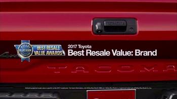 Toyota Leading the Way Sales Event TV Spot, 'Best Resale Value' [T2] - Thumbnail 2