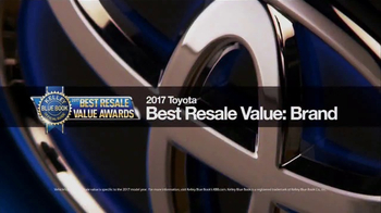 Toyota Leading the Way Sales Event TV Spot, 'Best Resale Value' [T2] - Thumbnail 3