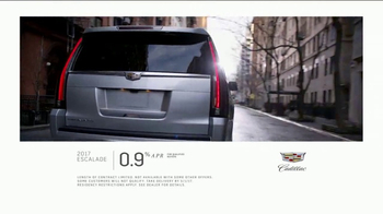 2017 Cadillac Escalade TV Spot, 'Perfect Fit: Financing' [T2] - Thumbnail 8