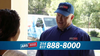 ARS Rescue Rooter Drain Cleaning Service TV Spot, 'Clogged Drains Special' - Thumbnail 3