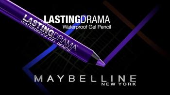 Maybelline Lasting Drama Waterproof Gel Pencil TV Spot, 'Ultra Smooth' - Thumbnail 3