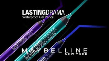 Maybelline Lasting Drama Waterproof Gel Pencil TV Spot, 'Ultra Smooth' - Thumbnail 8