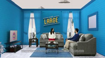Rent-A-Center TV Spot, 'Live Large in the Living Room'