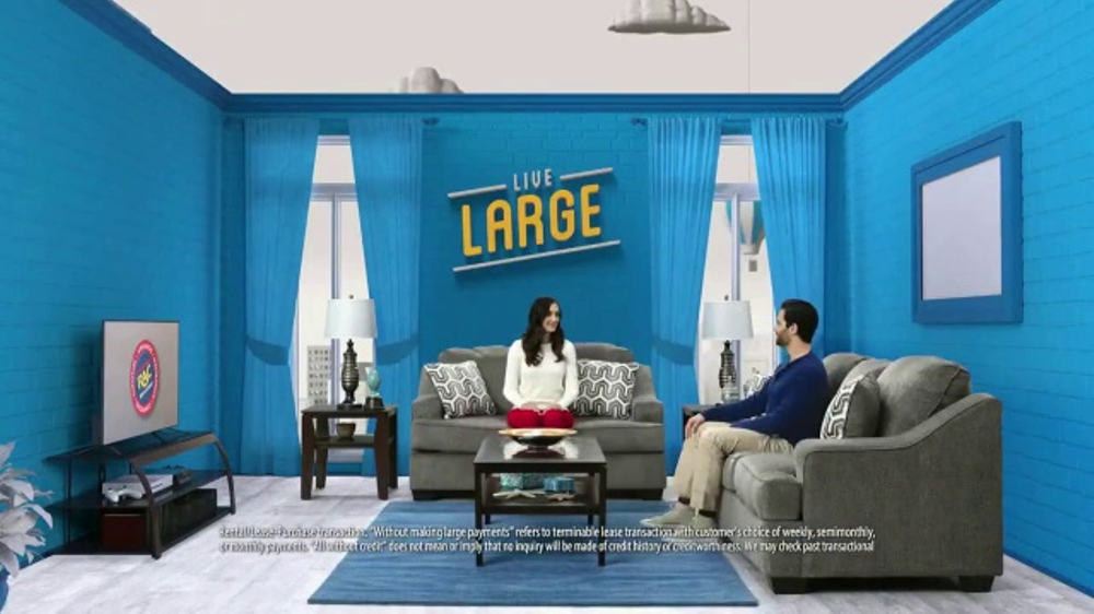 Rent-A-Center TV Commercial, \'Live Large in the Living Room\' - iSpot.tv