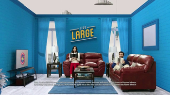 Rent-A-Center TV Spot, 'Live Large in the Living Room' - Thumbnail 5