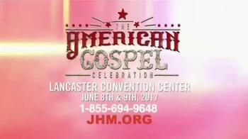 John Hagee Ministries TV Spot, '2017 American Gospel Celebration' - Thumbnail 5