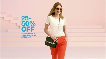 Macy's Wardrobe Sale TV Spot, 'Spring Update' - Thumbnail 6