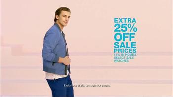 Macy's Wardrobe Sale TV Spot, 'Spring Update' - Thumbnail 8