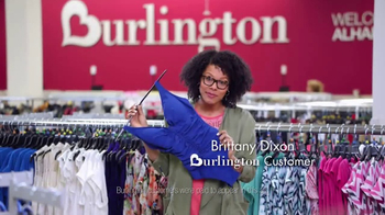 Burlington TV Spot, 'Your Savings Destination for Spring & Summer' - Thumbnail 3