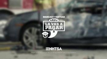 NHTSA TV Spot, 'Las buenas noticias pueden esperar' [Spanish] - Thumbnail 8