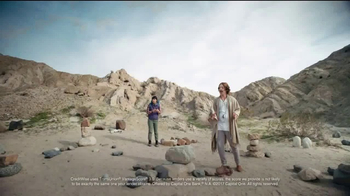 Capital One CreditWise TV Spot, 'Stacking Stones' - Thumbnail 6