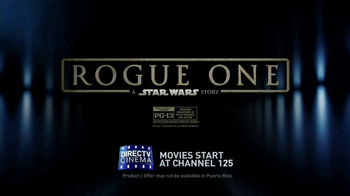 DIRECTV Cinema TV Spot, 'Rogue One: A Star Wars Story' - Thumbnail 10
