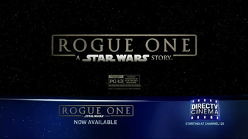 DIRECTV Cinema TV Spot, 'Rogue One: A Star Wars Story' - Thumbnail 9