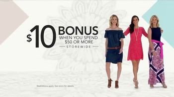 Stein Mart Biggest Dress Event TV Spot, 'Fun, Flirty and Sophisticated' - Thumbnail 8