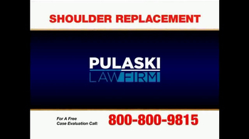 Pulaski & Middleman TV Spot, 'Shoulder Replacement' - Thumbnail 1