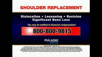 Pulaski & Middleman TV Spot, 'Shoulder Replacement' - Thumbnail 5