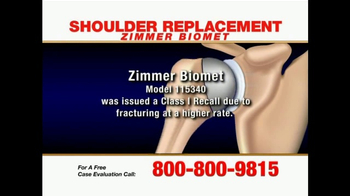 Pulaski & Middleman TV Spot, 'Shoulder Replacement' - Thumbnail 4