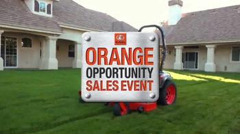 Kubota Orange Opportunity Sales Event TV Spot, 'Kommander Pro Mower' - Thumbnail 1