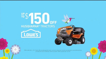 Lowe's Spring Black Friday TV Spot, 'RoundUp and Tractors' - Thumbnail 5