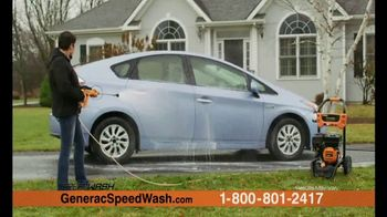 Generac 3200 PSI SpeedWash Pressure Washer TV Spot, 'Cleaning Power'
